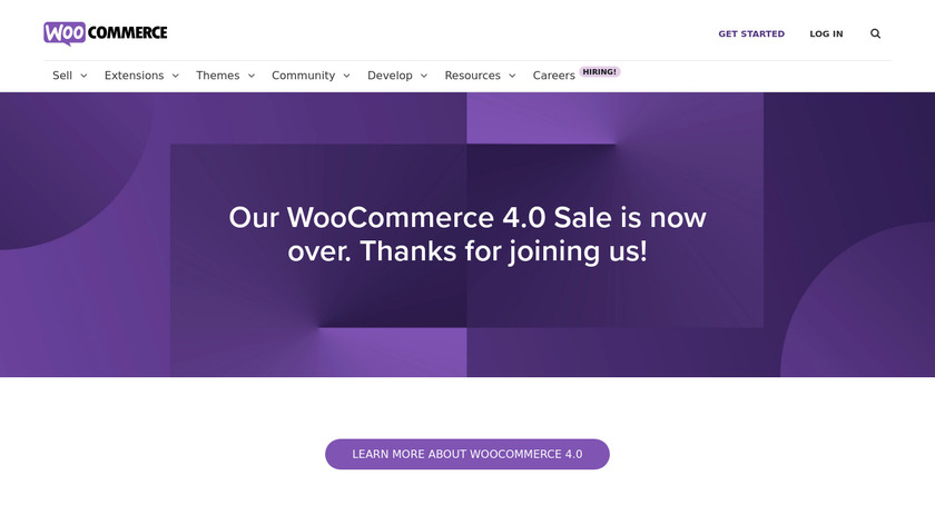 WooCommerce Landing Page