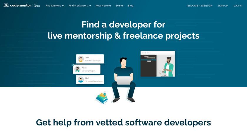 Codementor Landing Page