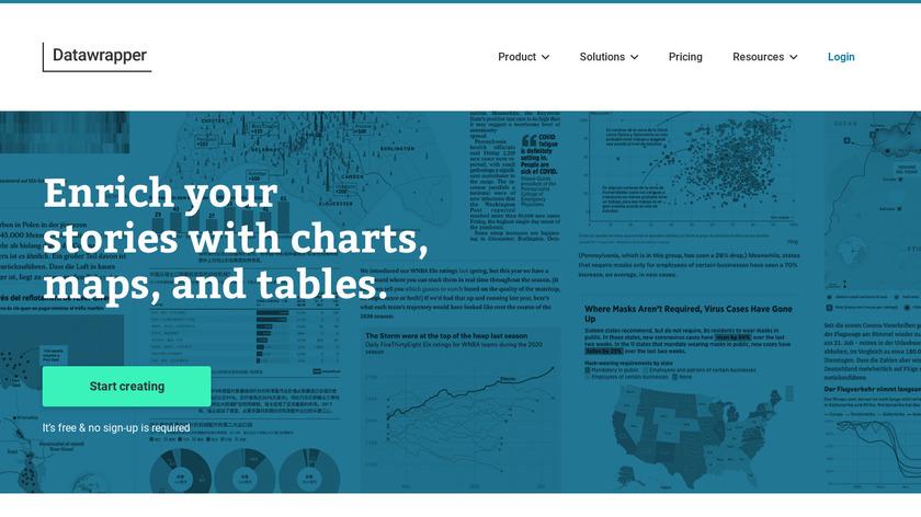 DataWrapper Landing Page