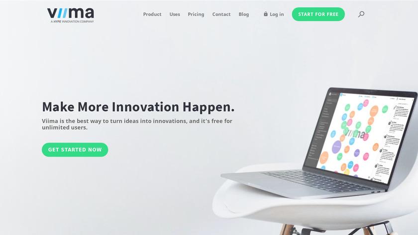 Viima Landing Page