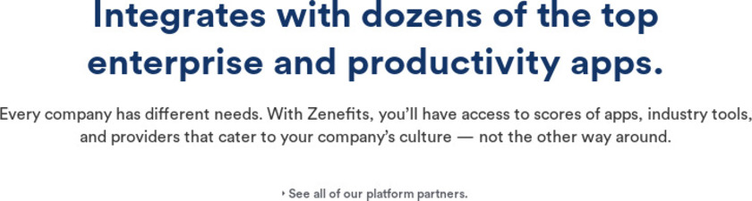 Zenefits Pricing