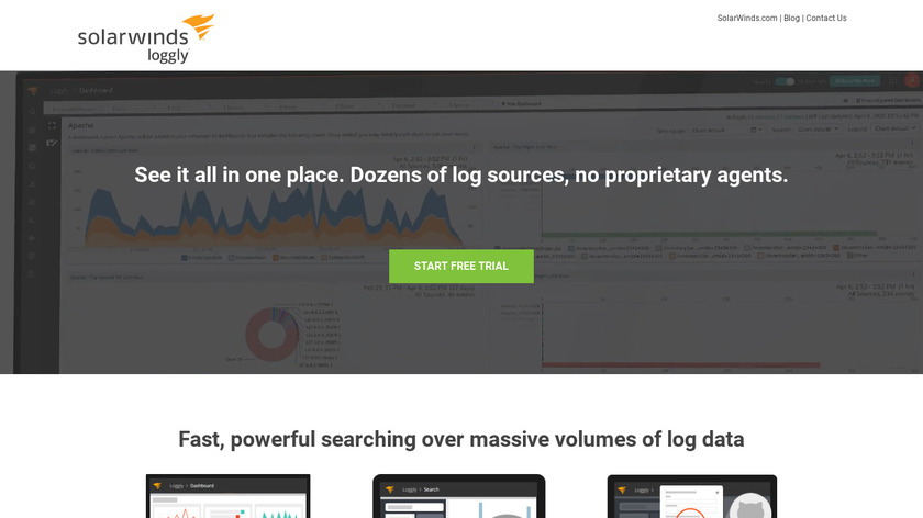 Loggly Landing Page