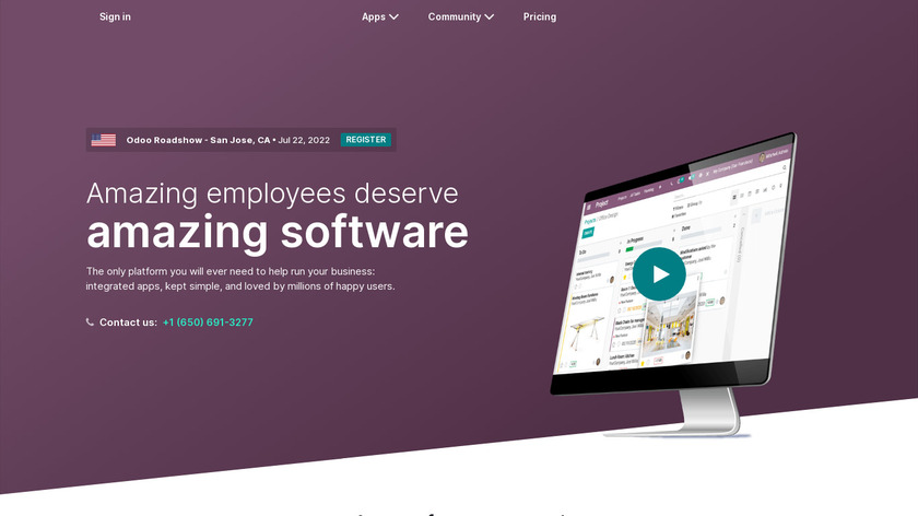 Odoo Landing Page