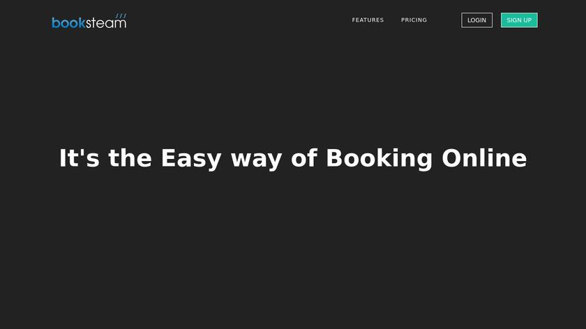 BookSteam Landing Page