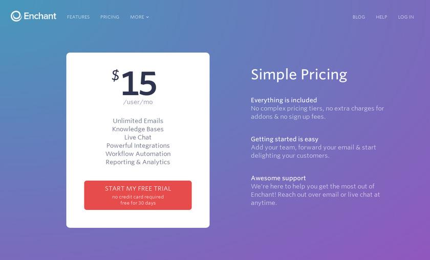 Enchant Pricing