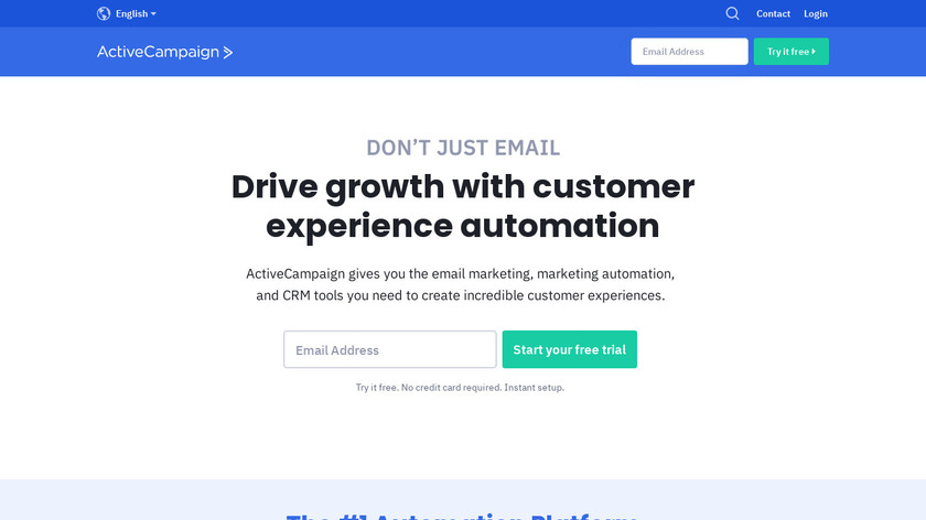 ActiveCampaign Landing Page
