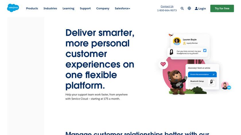 Desk.com Landing Page