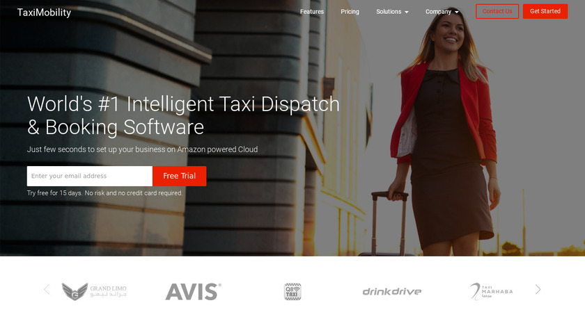 TaxiMobility Landing Page