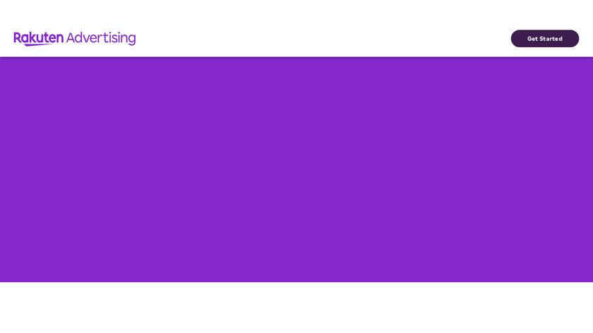 Rakuten LinkShare Landing Page