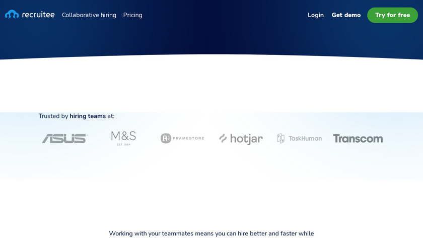 Recruitee Landing Page