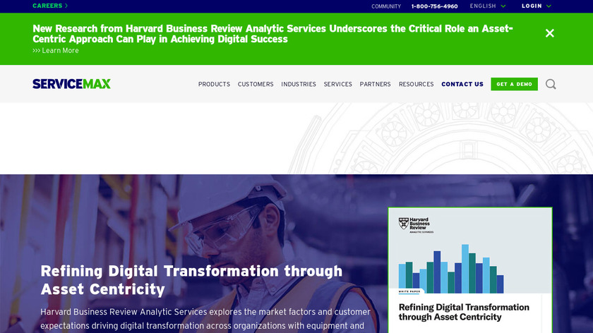 ServiceMax Landing Page