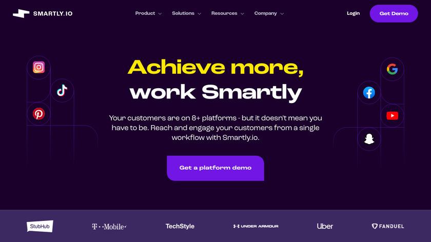 Smartly.io Landing Page