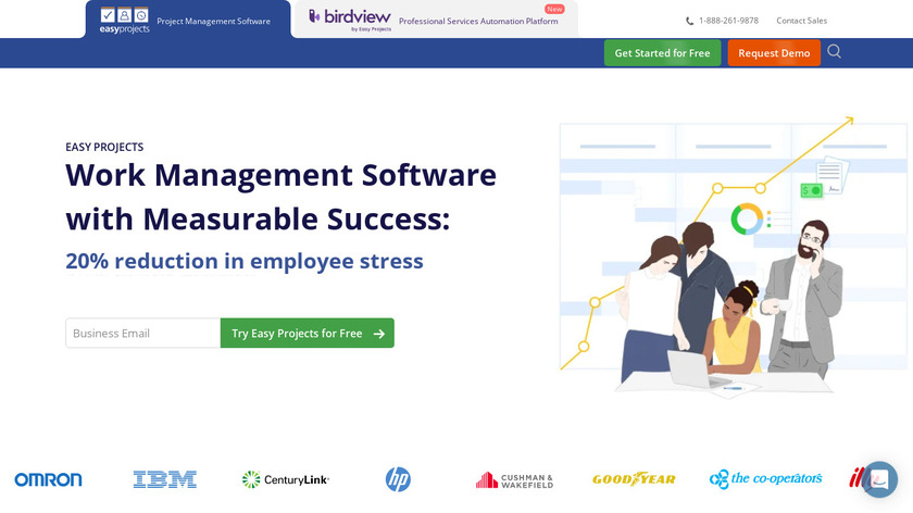 Easy Projects Landing Page
