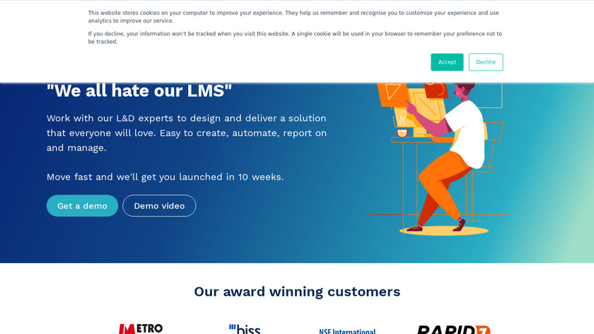 Rise To Landing Page