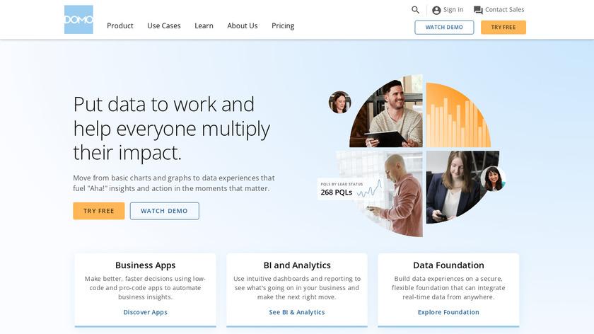 Domo Landing Page