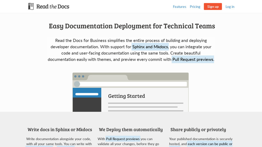ReadTheDocs Landing Page