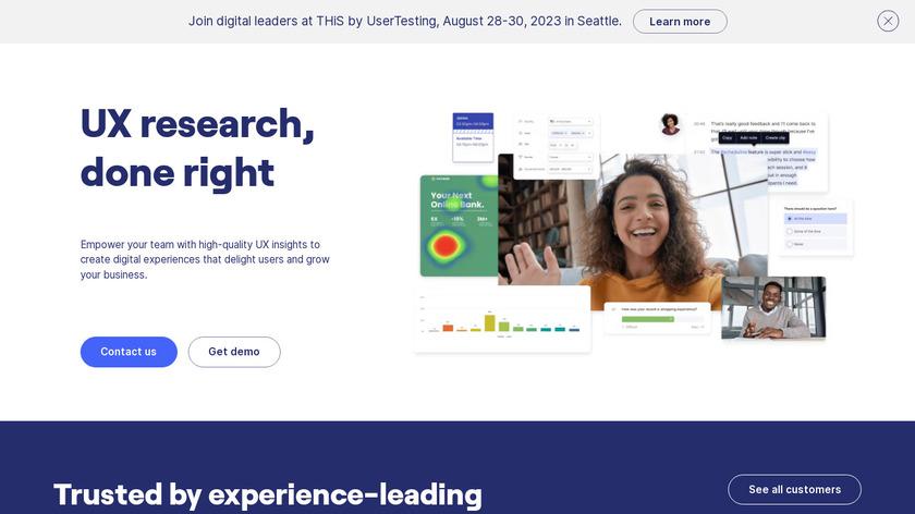 UserZoom Landing Page