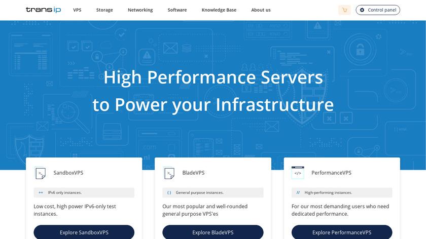 TransIP Landing Page