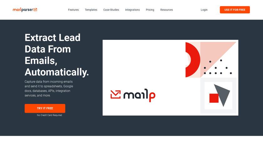 Mailparser Landing Page