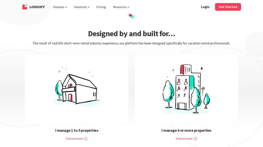 Lodgify Landing Page