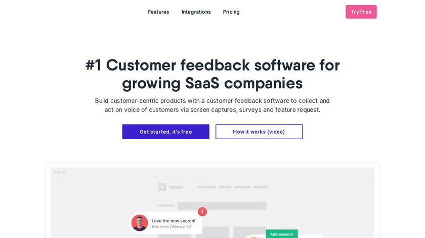 UserSnap Landing Page
