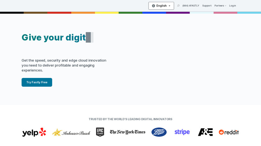 Fastly Landing Page