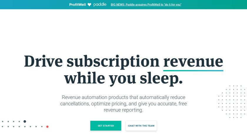 ProfitWell Landing Page