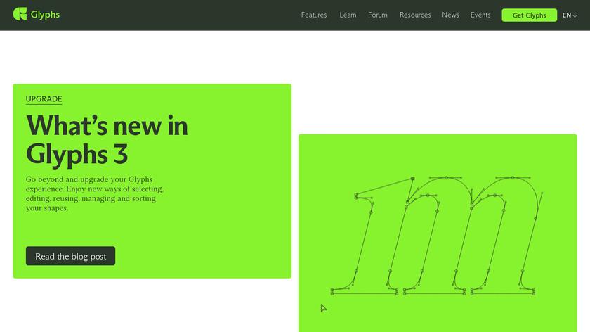 Glyphs Landing Page