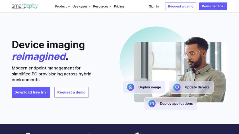 SmartDeploy Landing Page