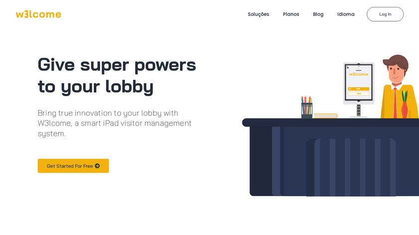 W3lcome Digital Sign-in Landing Page