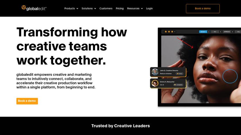 globaledit Landing Page