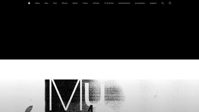 Apple Music Landing Page