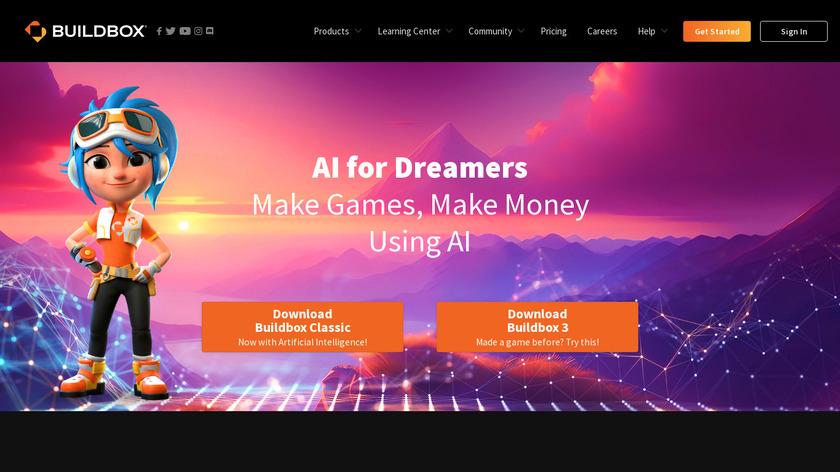 BuildBox Landing Page