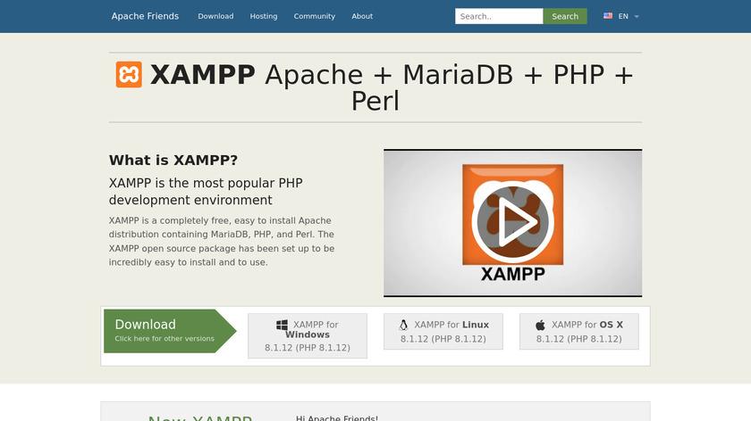 XAMPP Landing Page