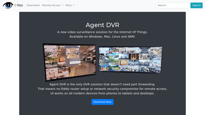 iSpy Landing Page