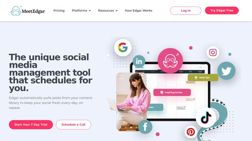 Edgar Landing Page