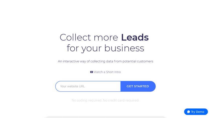 Collect.chat Landing Page