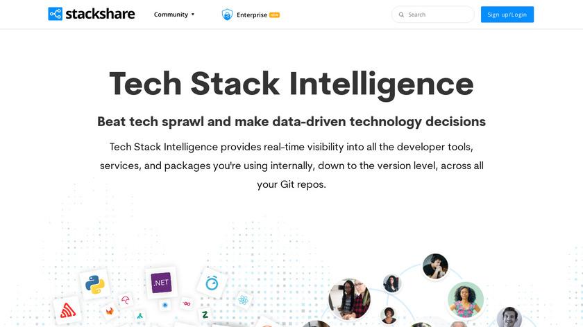 Stackshare Landing Page