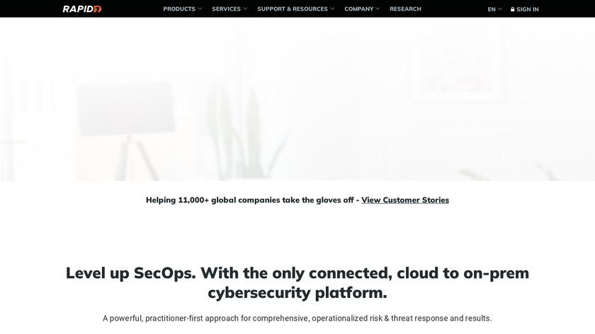 Metasploit Landing Page