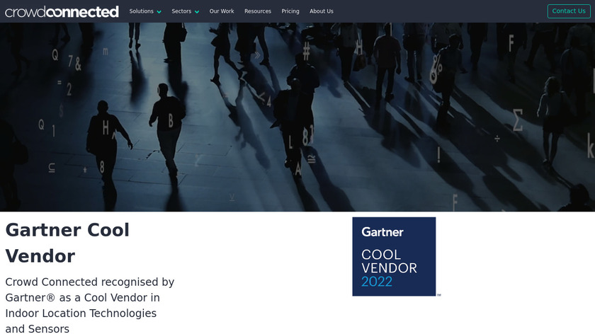 Crowd Connected Landing Page
