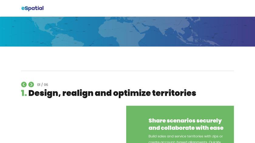 eSpatial Landing Page