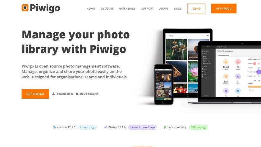 Piwigo.org Landing Page