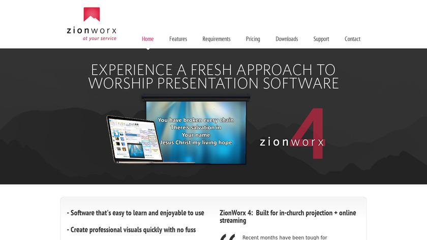 ZionWorx Landing Page