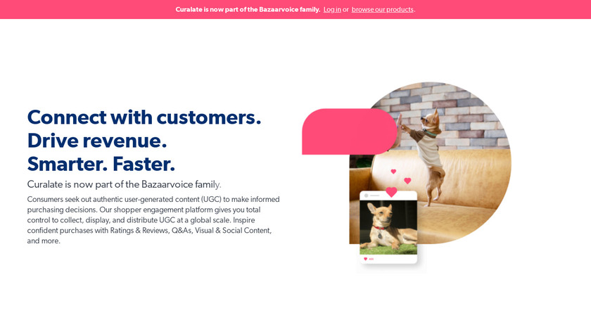 Curalate Landing Page