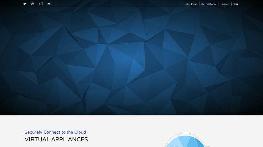 pfSense Landing Page