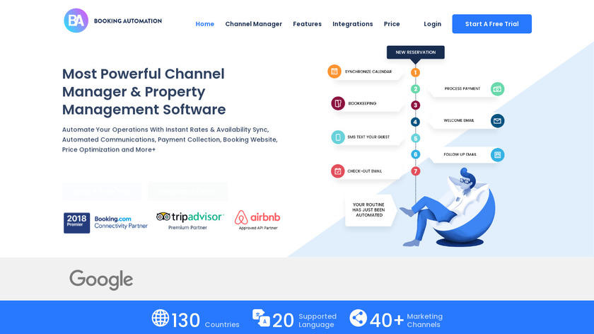Booking Automation Landing Page