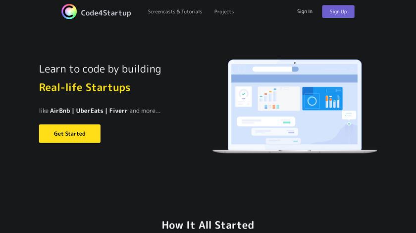 Code4Startup Landing Page
