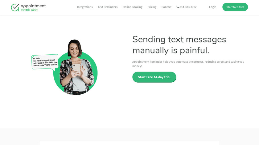 Appointment Reminder Landing Page
