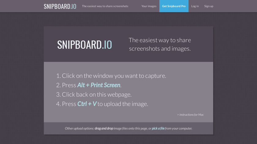 snaggy Landing Page