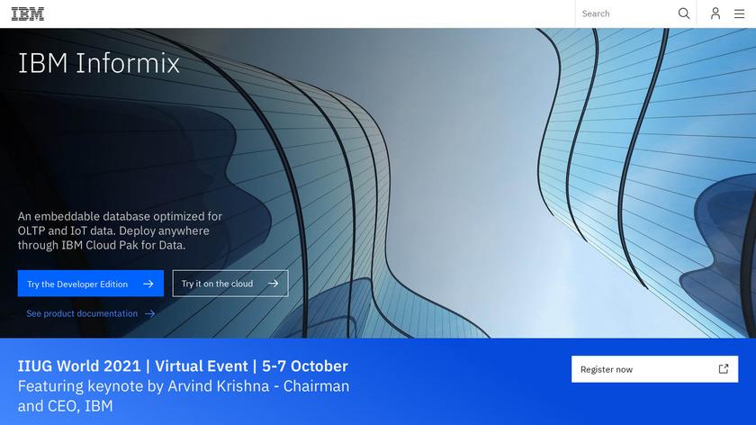 IBM Informix Landing Page